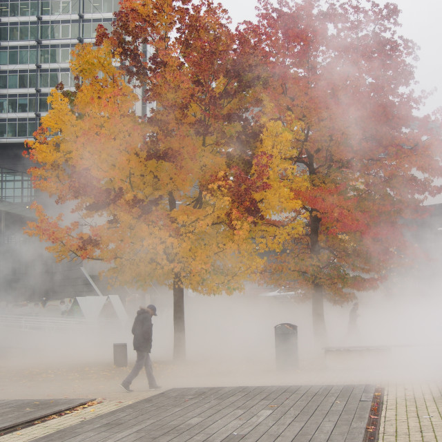 """Fog in Lille"" stock image"