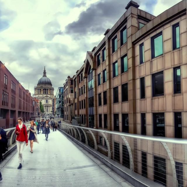 """Saint Pauls London"" stock image"