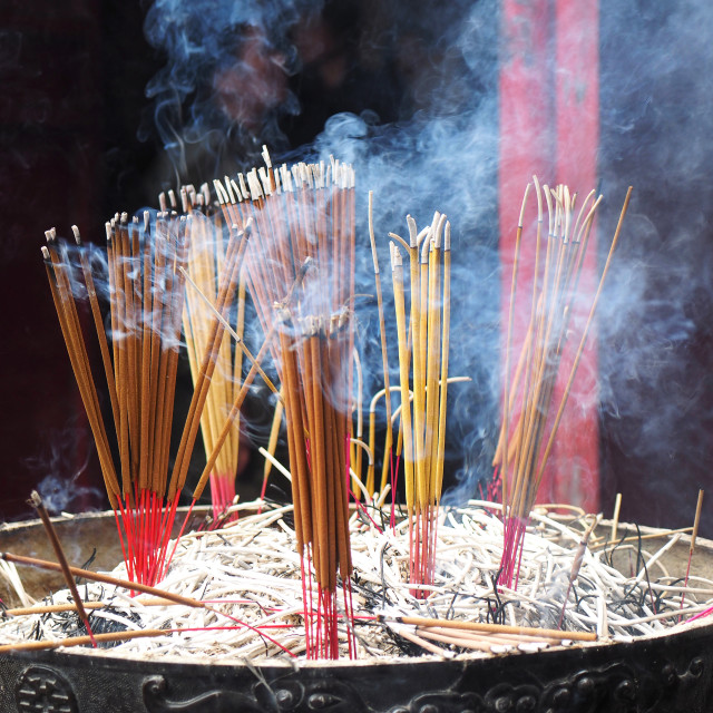 """incense sticks"" stock image"