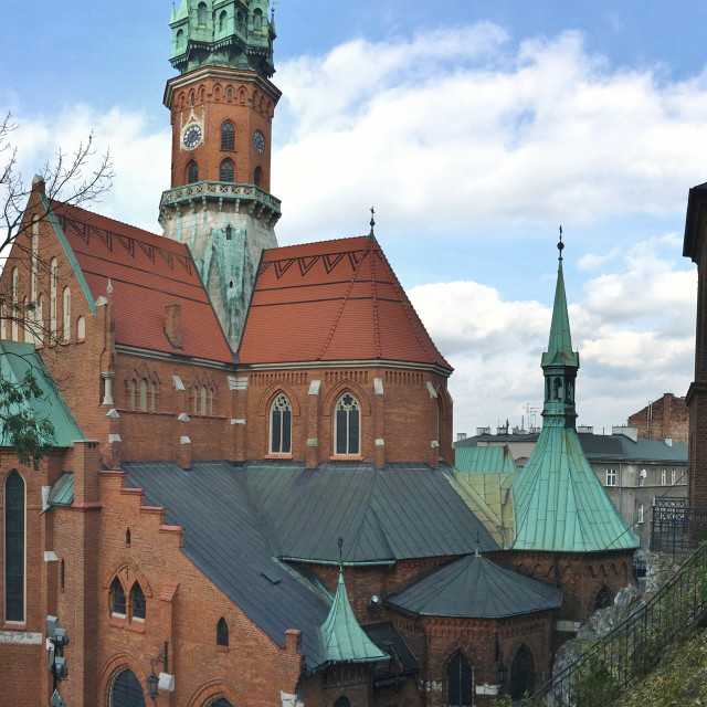 """St. Joseph's Church, Krakow Poland"" stock image"