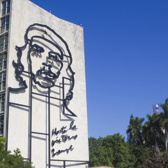 """""""Che Guevara - Plaza de la Revolución"""" stock image"""