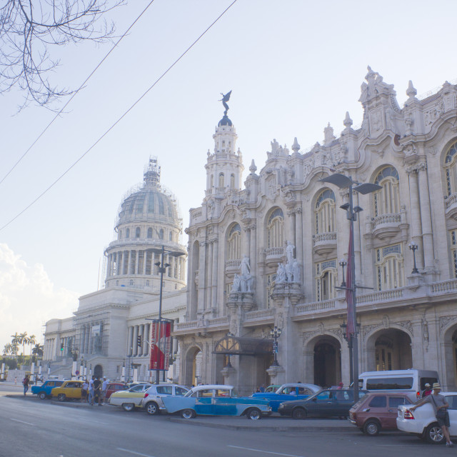 """Hotel Inglaterra - La Havana"" stock image"