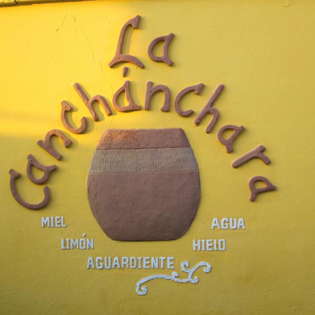 """""""La Canchanchara"""" stock image"""