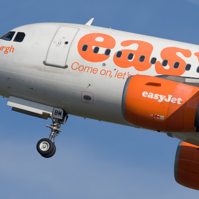 """Easyjet Take-Off"" stock image"