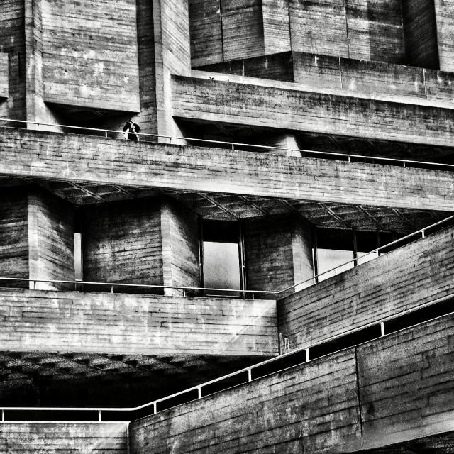 """Brutalist Architecture"" stock image"