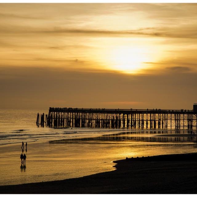"""Hastings Pier"" stock image"