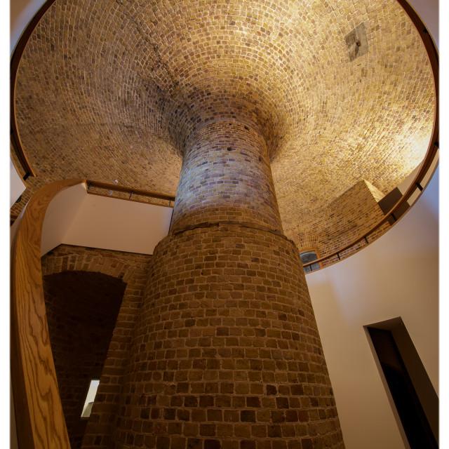 """Martello Tower Column"" stock image"