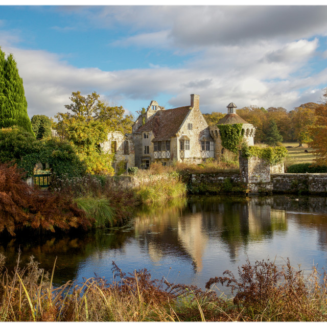 """Scotney Castle, Kent, UK"" stock image"