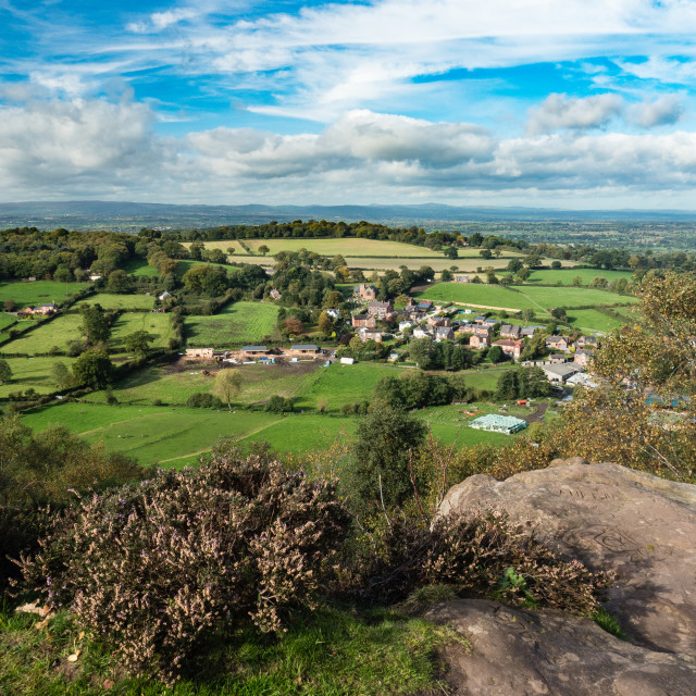 """Cheshire Plain"" stock image"