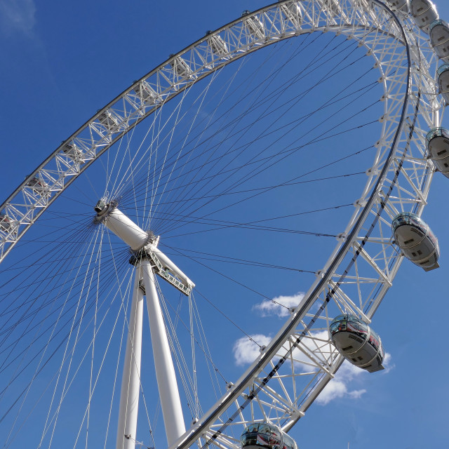 """Millennium Wheel"" stock image"