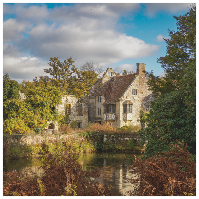 """Scotney Castle"" stock image"