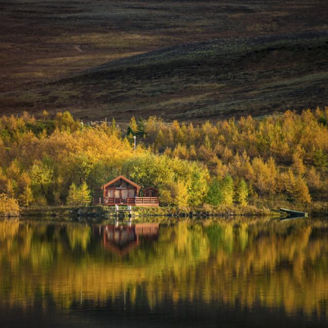 """Icelandic Autumn"" stock image"