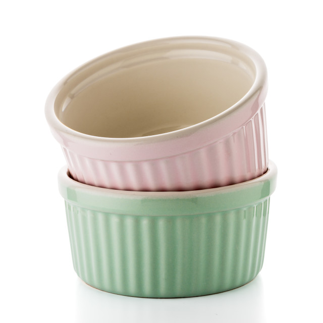 """""""Two colored bowls"""" stock image"""