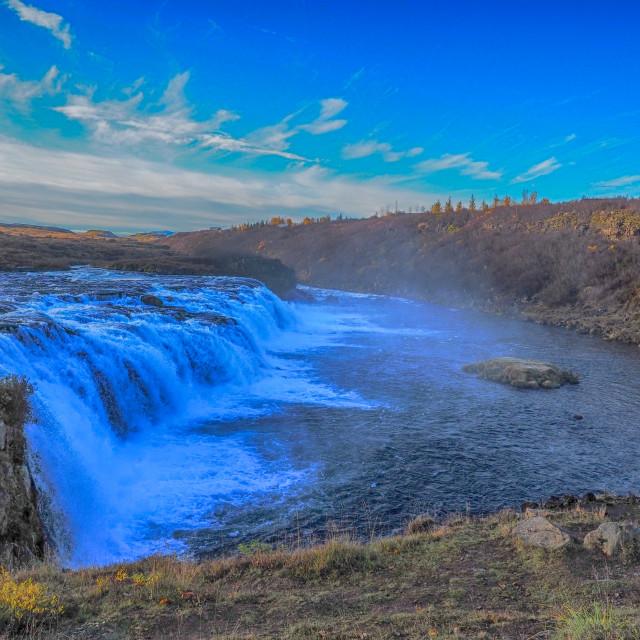 """Faxi waterfall."" stock image"
