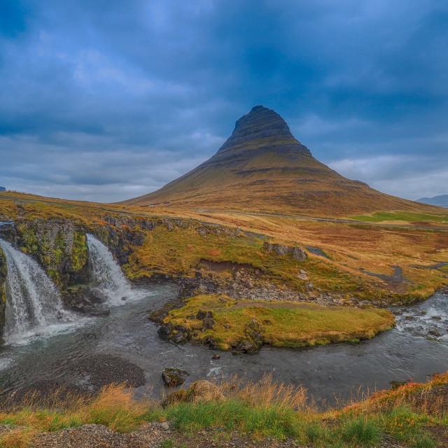 """Kirkjufell."" stock image"