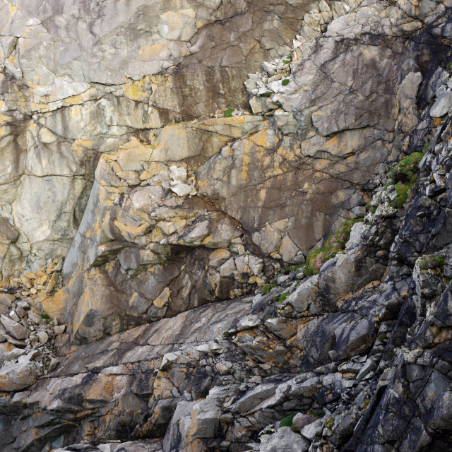 """Rugged cliff face background"" stock image"