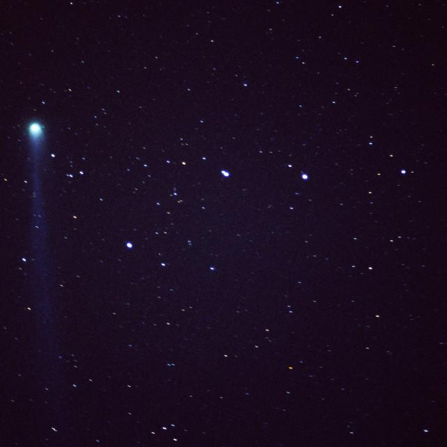 """Comet Hyakutake"" stock image"