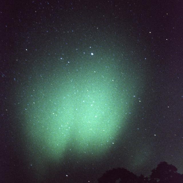 """Deeside Aurora"" stock image"