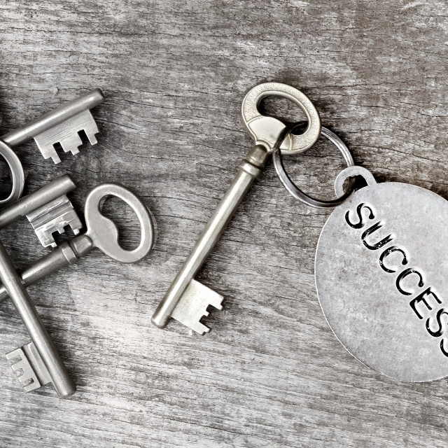 """key of success"" stock image"