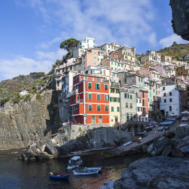 """""""Rio Maggiore"""" stock image"""