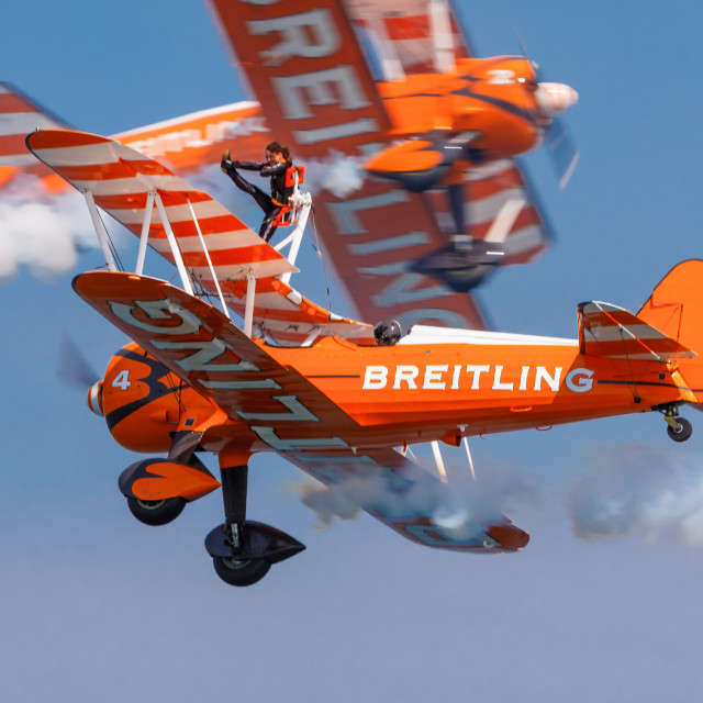 """Wing Walkers"" stock image"