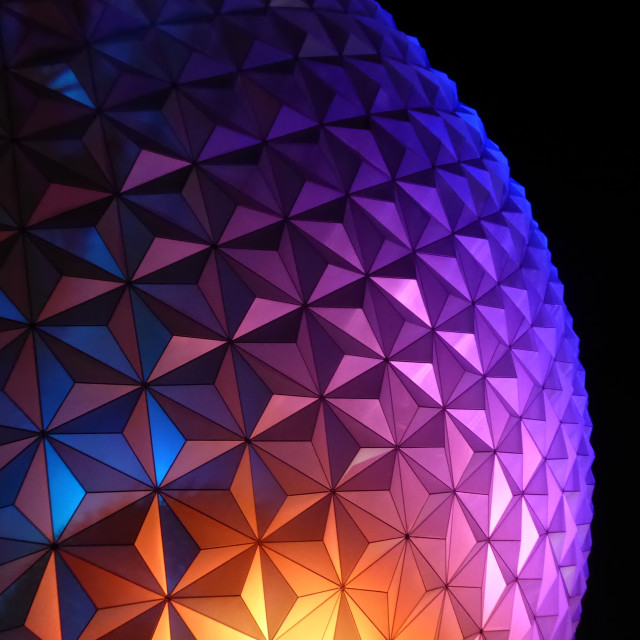 """Spaceship Earth sphere"" stock image"