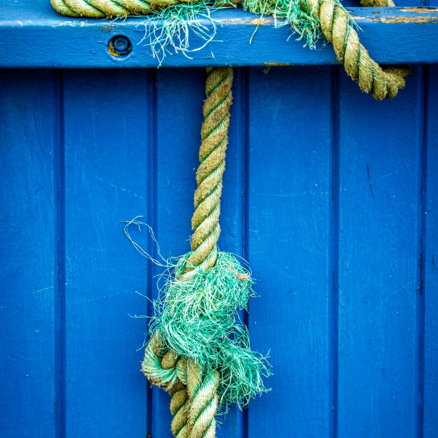 """fishermans knot"" stock image"