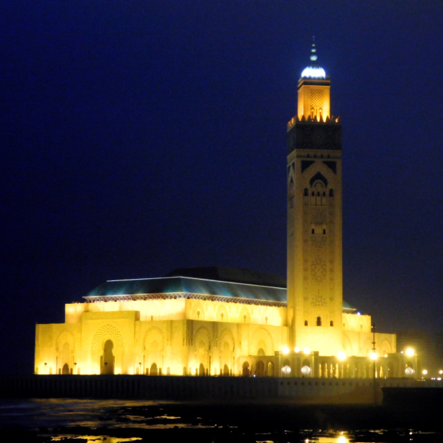 """""""mosquée Hassan II"""" stock image"""