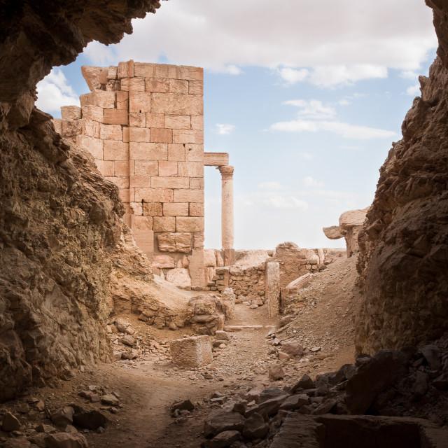 """""""Palmyra, Syria"""" stock image"""
