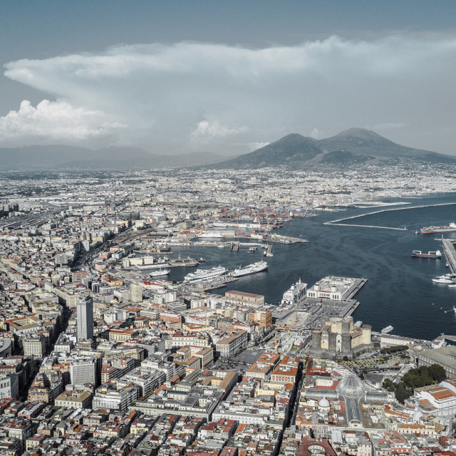 """Naples, Italy"" stock image"