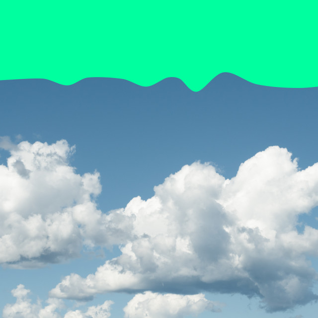 """clouds and sky backdrops"" stock image"