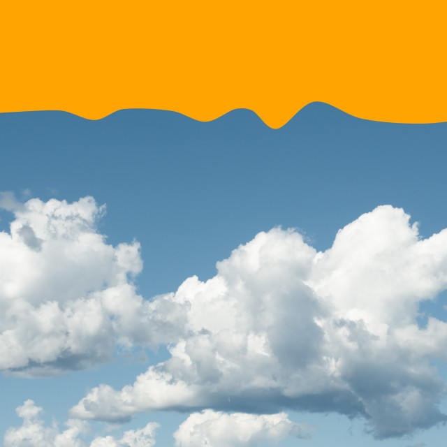 """""""clouds and sky backdrops"""" stock image"""