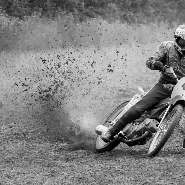 """Grass Track Racers"" stock image"