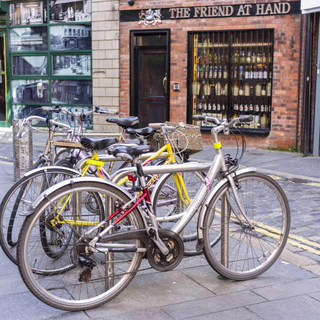"""Cycle Rack"" stock image"