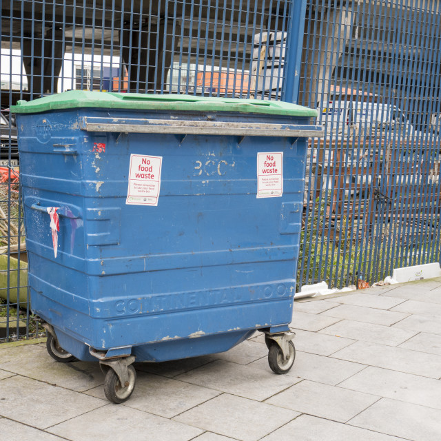 """Waste Bin"" stock image"