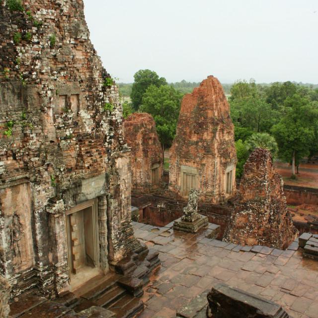 """Pre Rup temple in Angkor, Cambodia."" stock image"