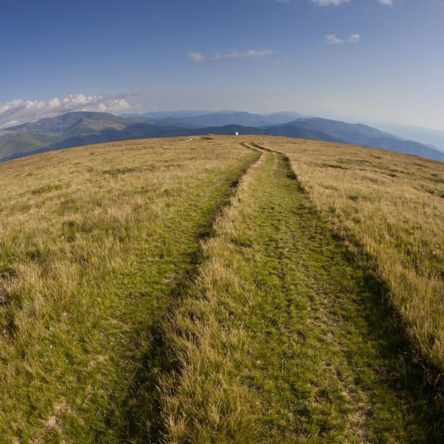 """Mountain path"" stock image"