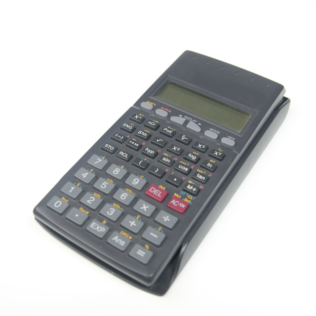 """Scientific Calculator"" stock image"