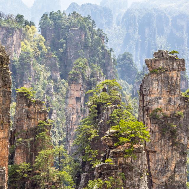 """Avatar Mountains"" stock image"