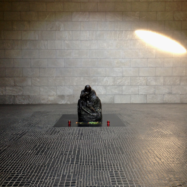 """""""Unknown Soldier - Berlin"""" stock image"""