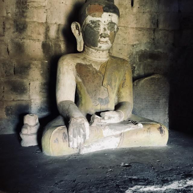 """Buddha in Myanmar"" stock image"
