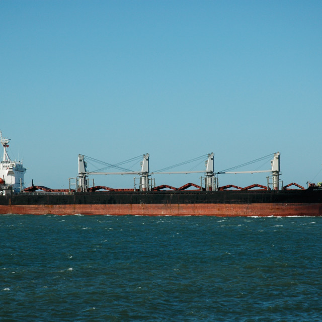 """The Chalothorn Naree, San Francisco Bay"" stock image"
