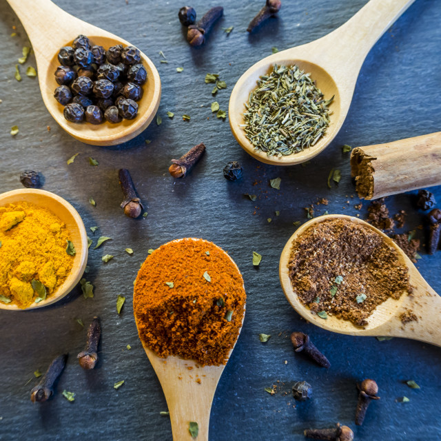 """""""Herb and Spices."""" stock image"""