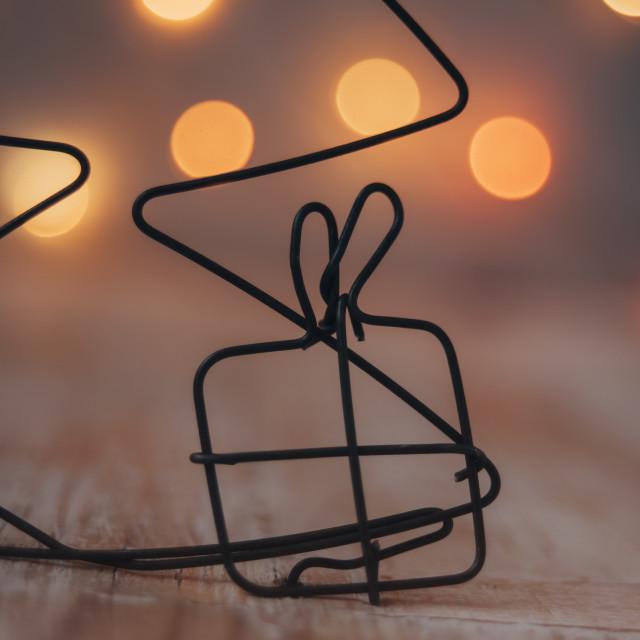 """""""Christmas gift"""" stock image"""