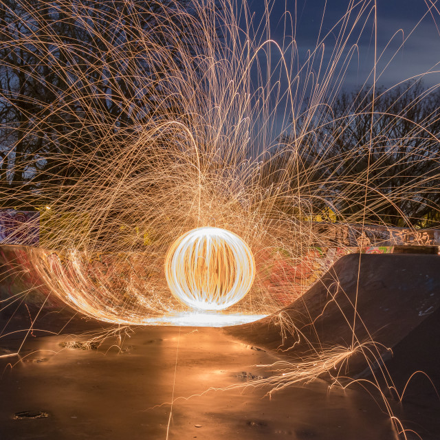 """Parks Sparks"" stock image"