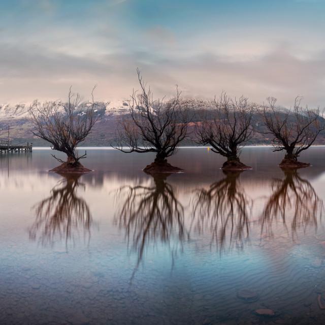 """Beautiful Glenorchy, Queenstown, New Zealand"" stock image"