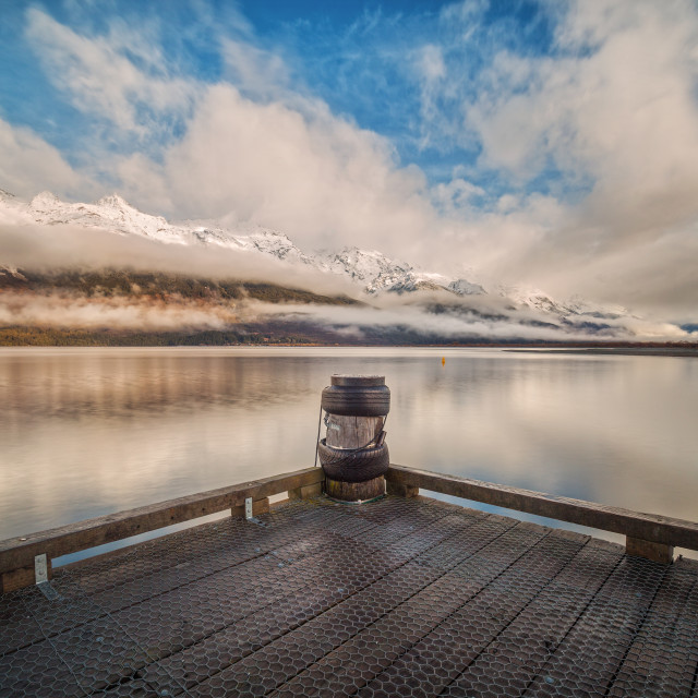 """Beautiful Glenorchy, Queenstown, New Zealand"" stock image"
