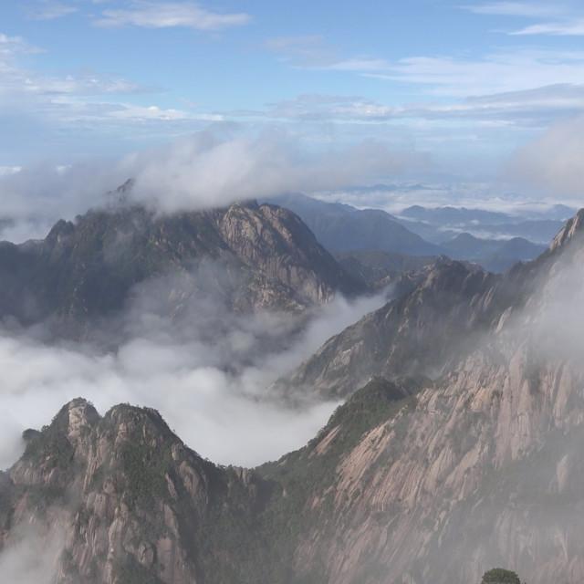 """""""Mount Huang"""" stock image"""