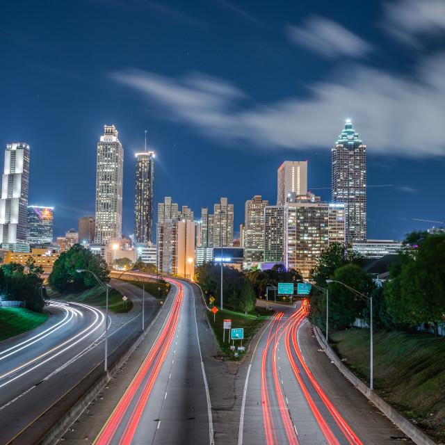 """Atlanta Cityscape"" stock image"