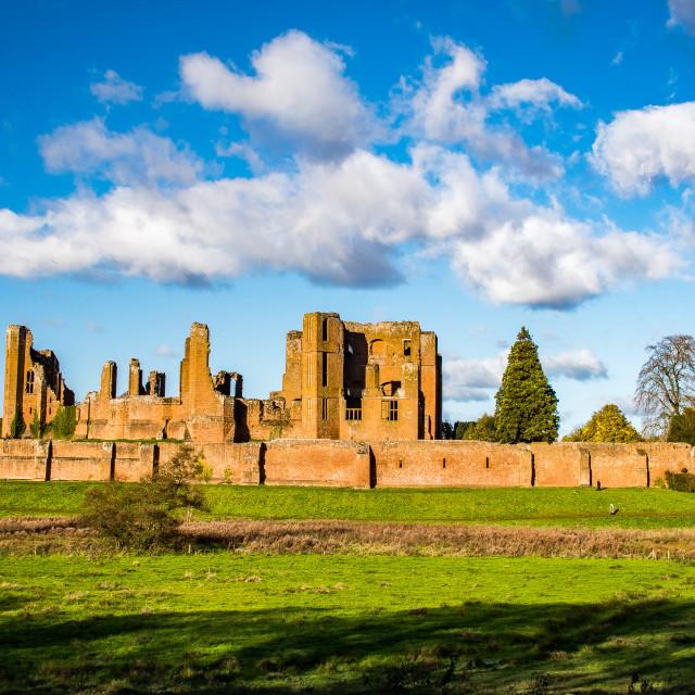 """Kenilworth Castle"" stock image"